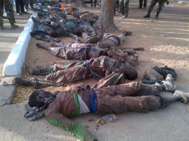 20 BOKO HARAM MEMBERS KILLED IN ABUJA NEAR THE PRESIDENTIAL VILLA