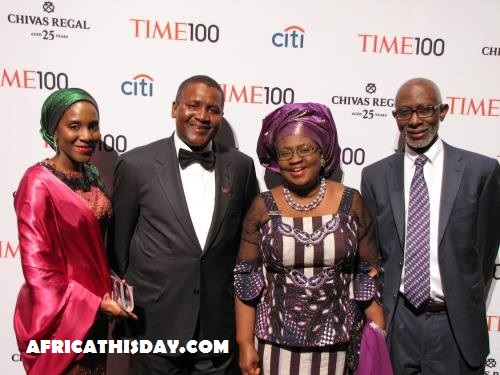 FIRST PICTURE OF DANGOTE'S WIFE YOU MIGHT EVER HAVE SEEN