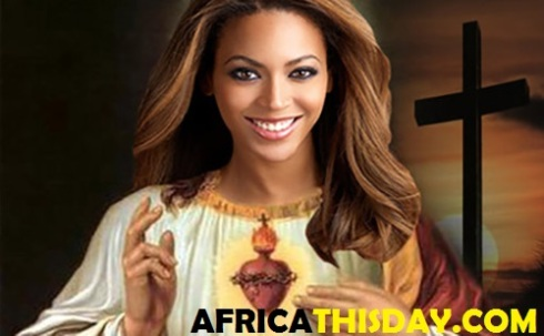 BEYONCE: TRANSFORMED INTO A GODDESS AND WORSHIPPED IN AMERICAN NEW CHURCH