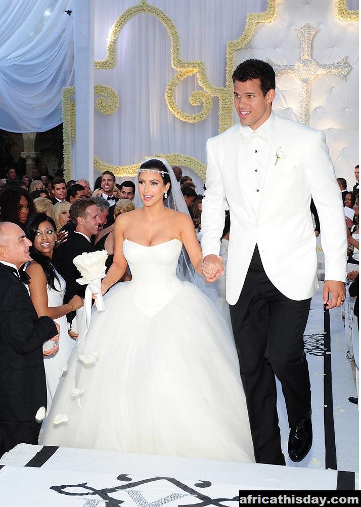 Kim Kardashian and Kanye West Are Married forecast