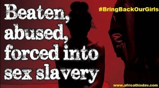 #BringBackOurGirls: Abducted Girls turned to Sex Slaves.